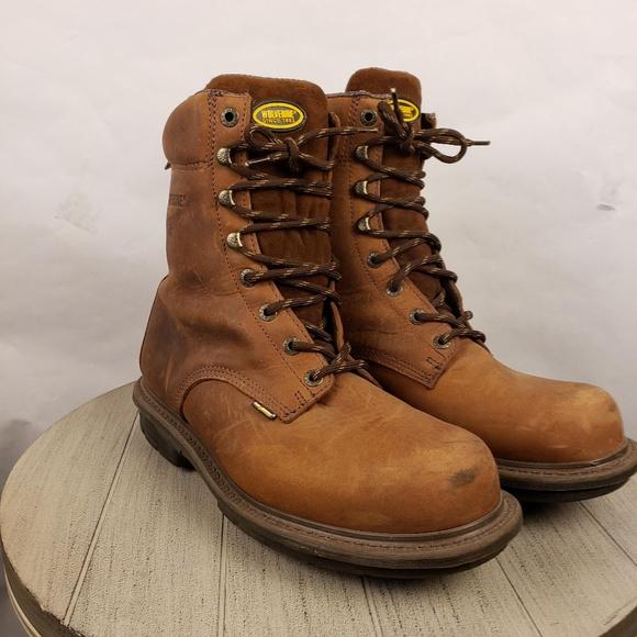 f3693746ee4 DuraShock Wolverine Steel toe Work Boots